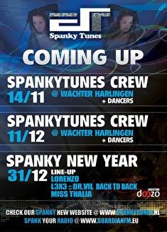 Spanky Tunes (flyer)