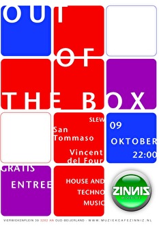 Out of the box (flyer)