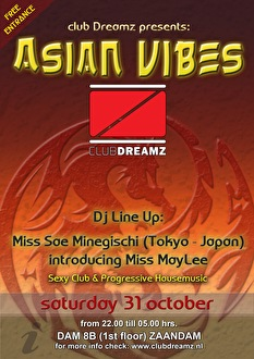 Asian Vibes (flyer)