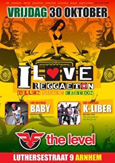 I love Reggaeton (flyer)