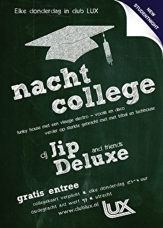 Nachtcollege (flyer)