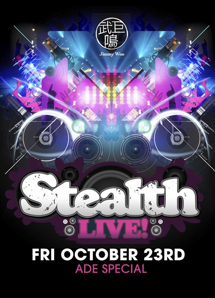 Stealth Live! (flyer)