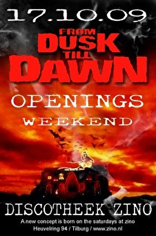 From Dusk Till Dawn (flyer)