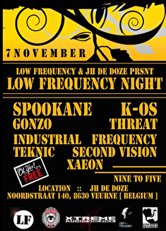 Low Frequency Night (flyer)