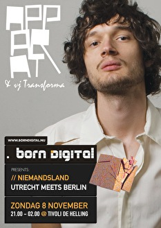 Utrecht meets Berlin (flyer)