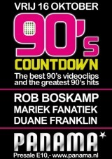 90's Countdown (flyer)