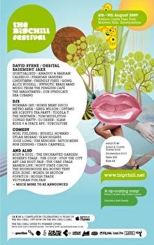 The Big Chill Festival (flyer)