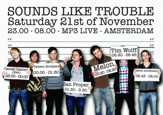 Sounds Like Trouble (flyer)