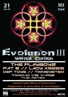 Evolution 3 (flyer)