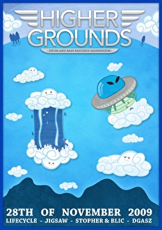 Higher Grounds (flyer)