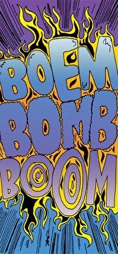 Boem Bomb Boom (flyer)