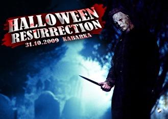 Halloween Resurrection (flyer)