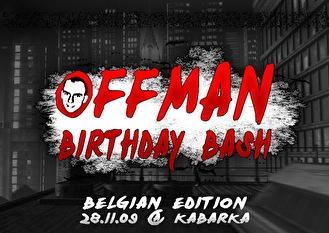 Offman Birthday (flyer)