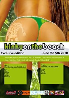 Kinky On The Beach (flyer)
