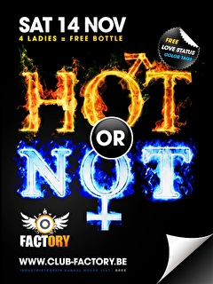 Hot Or Not (flyer)