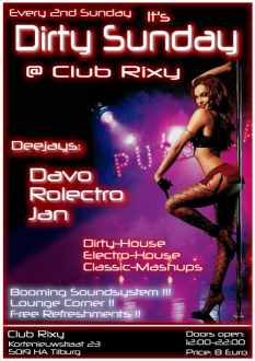 Dirty Sunday (flyer)
