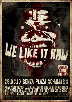 We Like it Raw (flyer)