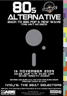 80's Alternative (flyer)