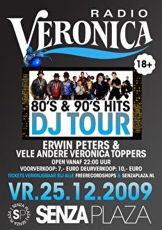 Veronica 80's & 90's Hits DJ Tour (flyer)