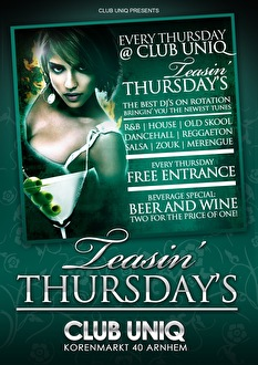Teasin Thursdays (flyer)
