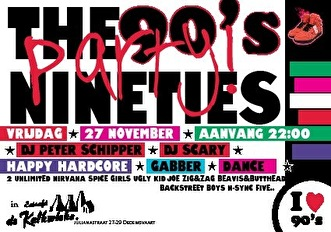 90's Party (flyer)