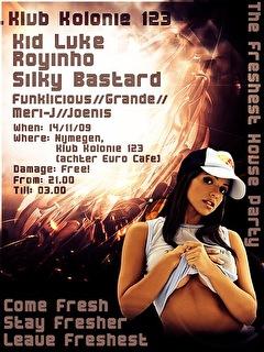 Fresh Beatz (flyer)