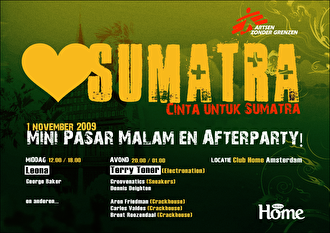 Love for Sumatra Afterparty (flyer)