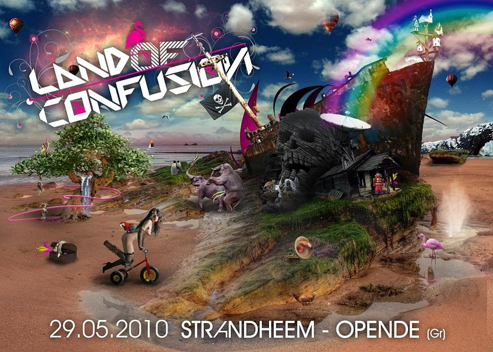Land of Confusion (flyer)