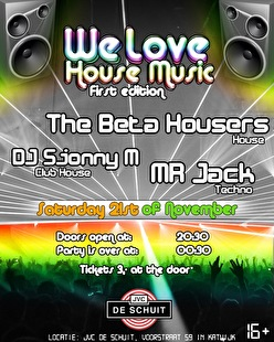 We Love House Music (flyer)