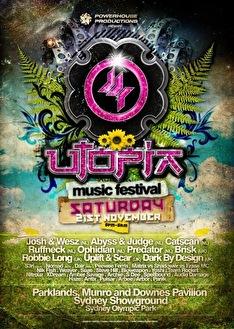 Utopia Music Festival 2009 (flyer)