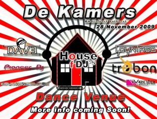 House of DJ's (flyer)