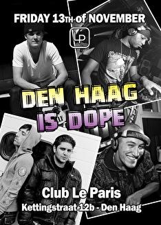 Den Haag is Dope (flyer)