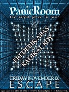 Panic Room (flyer)