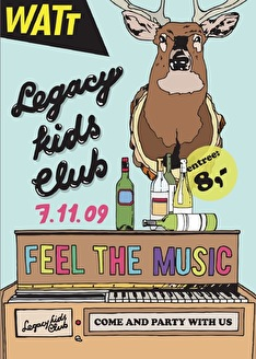The Legacy Kids Club (flyer)