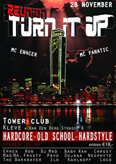 Turn It Up Reunion (flyer)