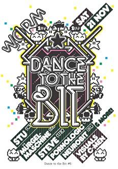 Dance to the bit VI (flyer)