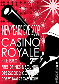 Mates Night Casino Royale (flyer)