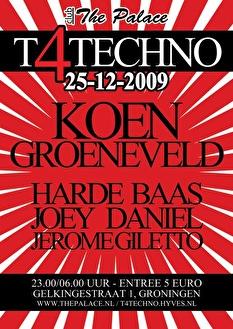 T 4 Techno (flyer)