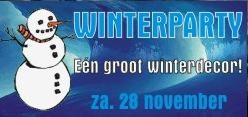 Winterparty (flyer)