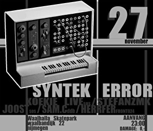 Syntek Error (flyer)