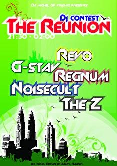 DJ Contest The reunion (flyer)