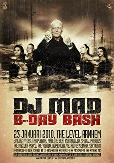 Dj Mad B-day Bash (flyer)