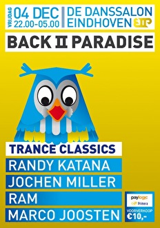 Back II Paradise (flyer)