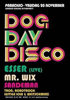 Dog Day Disco (flyer)