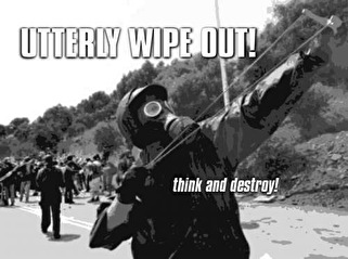Utterly Wipe Out! (flyer)