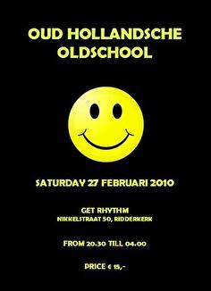 Oud Hollandsche Oldschool (flyer)