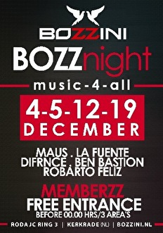 Bozz Night (flyer)