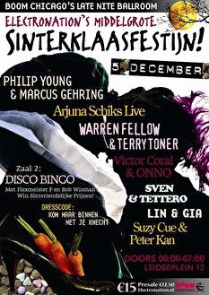 Electronation's grote Sinterklaasfestijn! (flyer)