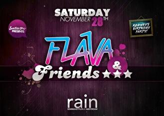 Flava & Friends (flyer)