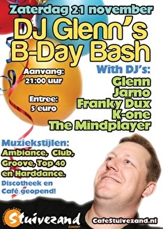 Glenn's B-day Bash (flyer)